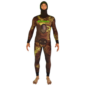 Yazbeck-Snyper-Wetsuit-3mm-5mm-7mm-Open-Cell-Silver-Titanium-Spearfishing-Freediving