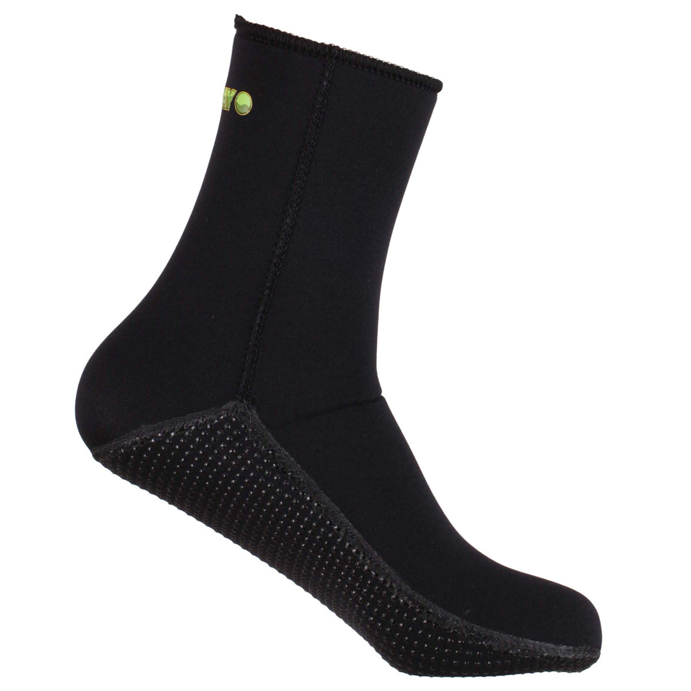Yazbeck-All-Black-Thermoflex-Socks-Titanium-Spearfishing-SKU66130