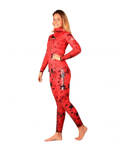yazbeck-spearfishing-freediving-wetsuit-nohu-red-color-woman-3.5mm