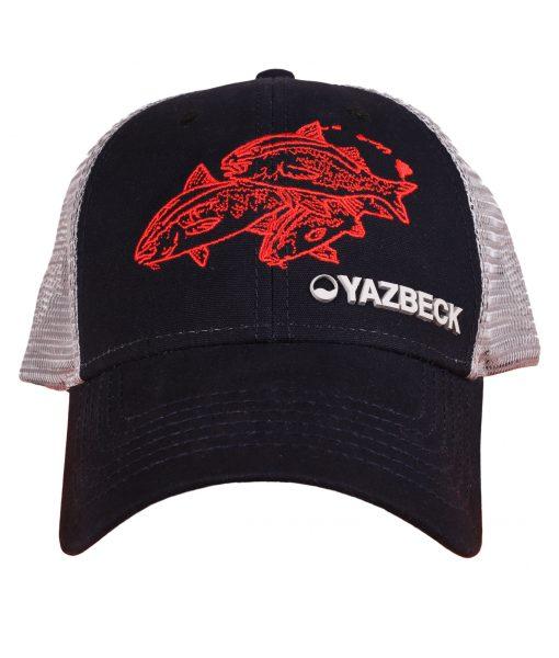 yazbeck-black-kumu-trucker-cap-front-design-Desmond-Thain