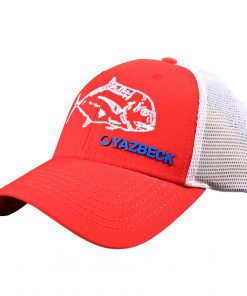 yazbeck-red-ulua-trucker-cap-side-design-Desmond-Thain